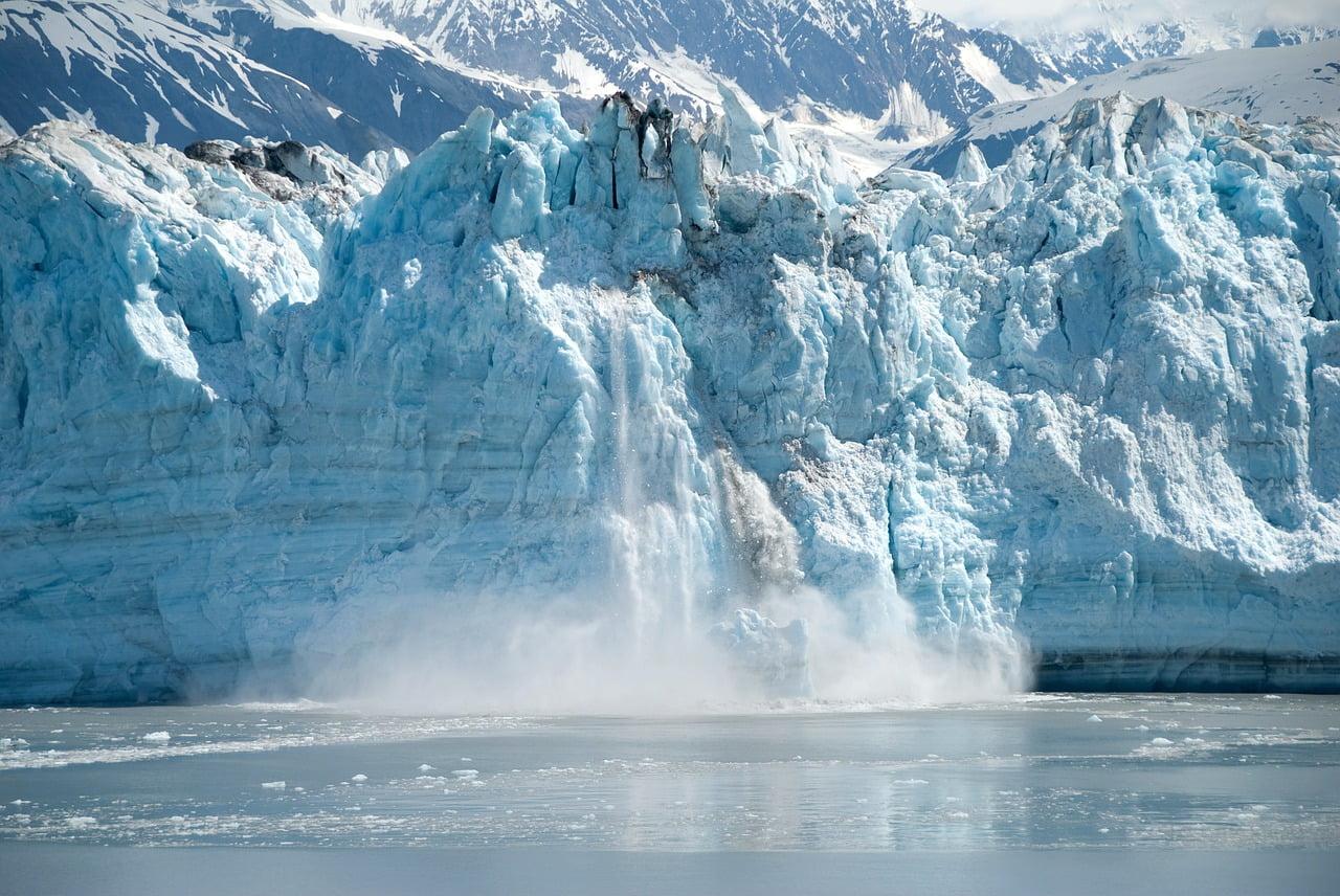 alaska, glacier, ice